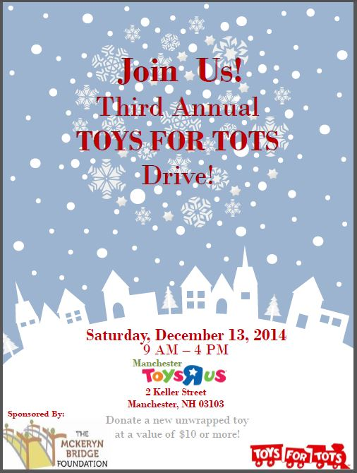 Toys For Tots Foundation Address : The mckeryn bridge foundation